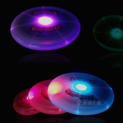 Free shipping led frisbee flashing frisbee led flying disc(China (Mainland))