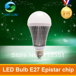 Free Shipping Energy Saving Green Initiative 9W SMD 5630 Ball Light E27 LED Globle Nature/Warm White 110V-240V AC CE RoHS(China (Mainland))