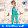 Free shipping In Stock 2013 100% Cotton Fashion Children's sports suit 3pc/set (Coat+T Shirt+Pant) Clothing For the children