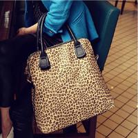 Leopard print bags 2013 women's spring handbag one shoulder cross-body handbag