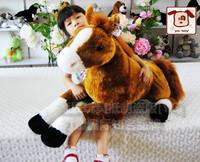 Plush toy - horse derlook ta