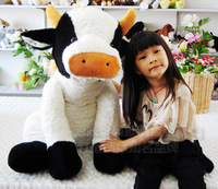 Plush toy fun Large big milk cow gift family pack