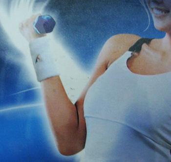 Ks307 wrist support sports protective clothing badminton 2 basketball