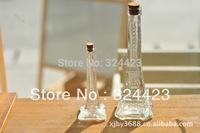 Free Shopping Paris  Glass Bottle Can Be Used To Drift bottles&Wishing bottle&Vase Multifunctional decorative items