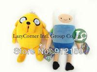 """Wholesale 5pcs/Lot NEW Adventure Time  Finn & Jake Plush Doll * PLUMP JAKE * 11"""" Plush Toy  Free Shipping"""