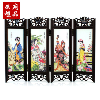 Small screen decoration wedding gift chinese style business gift