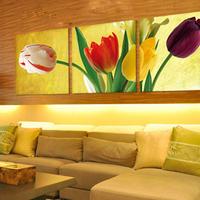 Home oil painting paintings  / flower painting millenum