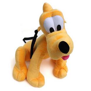 MICKEY MINNIE pluto dog doll lapdog big head dog poodle plush toy