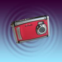 Waterproof digital camera the diving function camera WDC5011 diving 3 meters 2.4-inch screen digital camera