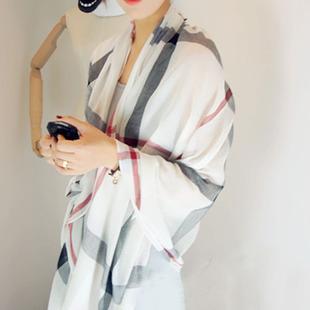 2014 burb ladies rry classic plaid beach scarf plain cape moben tassel scarf