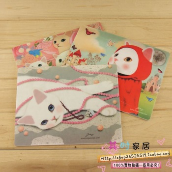 At home 35g animal hot-selling lj kitten cartoon mouse pad