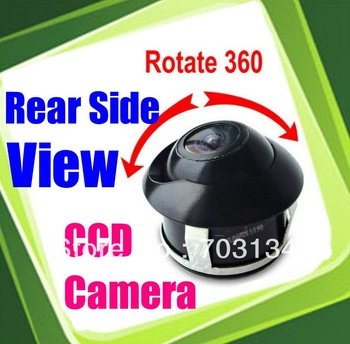 HD Rear view camera Clear CCD Color lens for Car Rear Front Side View Automobiles safty Reversing Parking backup Monitoring
