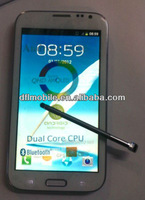 5.5QHD 8.0MP MTK6577 Dual-core 1.2GHz dual sim Android mobile phone 7100/note2