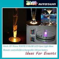 10piece 8inch table centerpiece light,wedding centerpieces