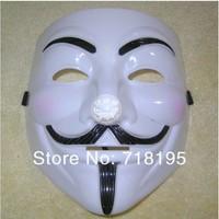 Factory Wholesale 100pcs/lot  V Vendetta Mask Theme Movies V For Vendetta Mask Halloween Mask Free shipping