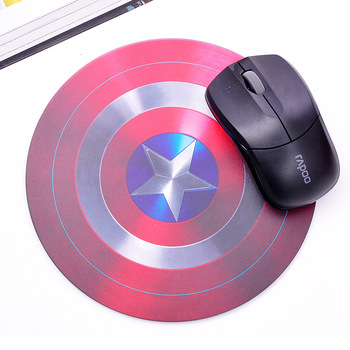 (Min order is $10) Mouse pad shield style mouse pad d065