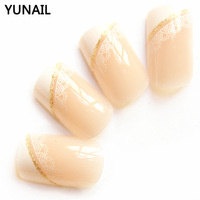 Free shipping Lace French all-match lace false nail