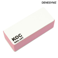 Free shipping Nail art tools material koc finger double faced polishing block polishing cotton