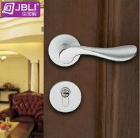 2013 Split type lock,room door lock,Hold hand lock,Double lock tongue,Never fade, silvery white Free shipping