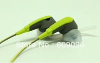 Wholesale 2013 New arrived BOSS SIE2I In-Ear Headphones Sport Earphones with micrphone With box Arm band Free shipping