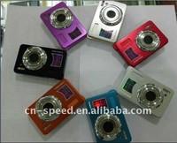 Cheap anti-shake digital camera 3x optical zoom 2.7 inch screen camcorde DC-780,Free 8GB SD Card +Free shipping
