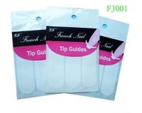 Free Shipping French nail Tip Guides Nail art Sticker beauty nail Decoration 100pcs/lot(10 pack)mix order