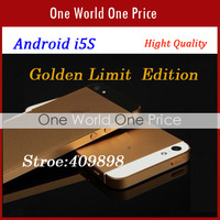 i5 Phone five Colos(Pink,Golden etc) android 4.1 MTK6577 4.0inch  IPS Screen+1G CPU+ 512RAM+8MP+GPS+WIFI  WCDMA 3G Root #3