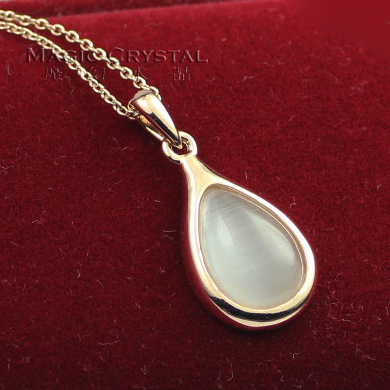 Eye drop ITALINA - short design necklace female accessories(China (Mainland))