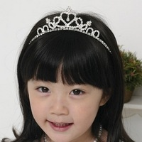 Hot-selling hair accessory hair accessory rhinestone child hair bands headband child comb 50pcs free shipping DHL/EMS
