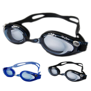 Swimwear myopia swimming glasses antifog waterproof swimming goggles general