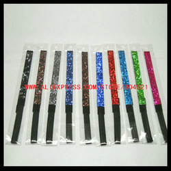 Mix 19 Colors Glitter Headband,sports headbands Free shipping HB-103(China (Mainland))