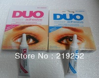 "free shipping ! Makeup Eyelash Glue DUO WaterProof Eyelash Adhesive Glue 9G ""White/Black(10pcs/lot)"