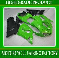 Freeship ABS high grade customs motorcycle aftermarket ZX-6R 05 06 plastic body green/black kits for KAWASAKI 2005 2006 ZX6R