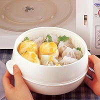 Revitalization of microwave oven circle steamer microwave steamer steamed meat multifunctional a184