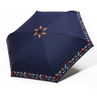Ultra-light three fold umbrella sun protection umbrella sun umbrella folding umbrella anti-uv uv