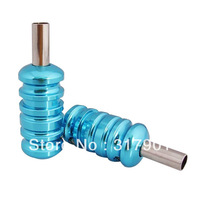 free shipping 8pc colors Aluminum Alloy tattoo Grips with Back Stem For tattoo machine supply