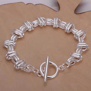 High Quality! Free Shipping Wholesale 925 silver bracelet, 925 silver fashion jewelry Belt Bracelet H119
