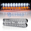 New 2x 30 LED AUTO DRL 5W White Car Daytime Running Lights/Fog Lamps Free Shipping TK0022