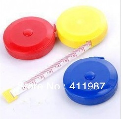 Retractable Tape Measure Plastic Tapeline 150cm Length Body Measurement .bs0049(China (Mainland))
