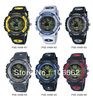 2013 Hot sale watch free shipping BS-048B , 100% brand new High Quality PASNEW 50M Water-proof Dual Time Boys Girls Sport Watch