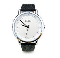 Sinobi original watchband  sexy british style unisex quatz  fashion dress  watches men watch