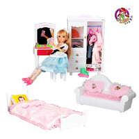 Doll toys set dream furniture series toy little girl toy