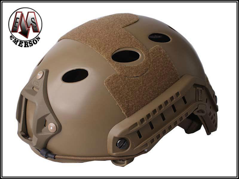 EMERSON FAST Helmet Pararescue Jump TYPE Airsoft adjustable Helmet Dark earth EM5668A(China (Mainland))