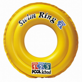 yellow inflatable swimming ring children/ baby swimming product general floating ring free shipping
