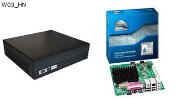 low price Thin Client, Mini PC Smart Office mini PC W03_HN(2GB, 4GB) , Intel atom D2500, 1.8ghz thin client