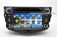 "car audio with radio ATV 7"" CAR DVD STEREO + GPS NAVIGATION + FOR TOYOTA RAV4 2007-2011"
