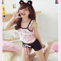 5 0 split swimwear female of a cat hot spring swimsuit 1093