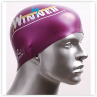Silica gel swimming cap pearl high-elastic swimming cap fashion men female