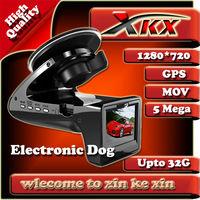 Just For Russian Language FullHD GPS Electronic Dog Car Recorder DVR Black Box Vidoe E-Dog 2.0Nich SH818 G-sensor Edog 140degree