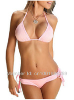 2013 new arrival bikini swimwear women push up, fringe bikini tops padded swimwear
